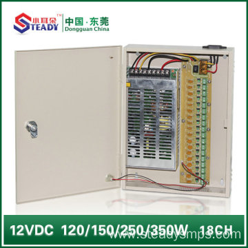 18 Channel Power Supply Box 12V20A